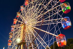 Sky Wheel in Fair