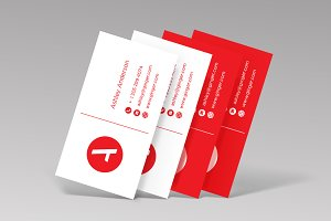 Business cards Mock Ups + Templates