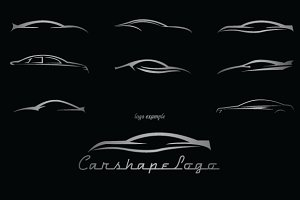 Shapes: LovePowerDesigns - Car Shapes For Logos