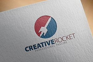 Creative Rocket Logo