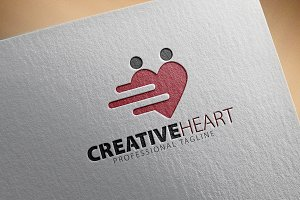 Creative Heart Logo