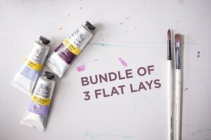 BUNDLE of 3 Flat Lays