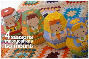 4 Season Matryoshkas to mount