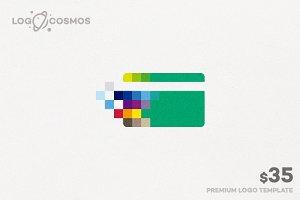 Pixel Card Logo