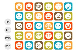 Smiley Icons, Emoticons