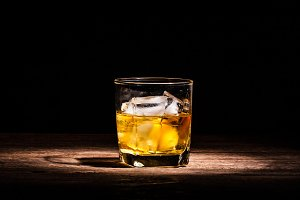 Whisky with ice
