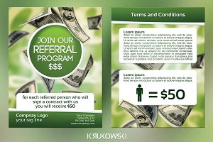 Referral Program 2 Sided Flyer