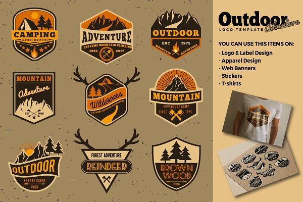 Outdoor Adventure Logo Templates