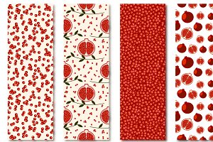 Seamless Patterns with Pomegranate