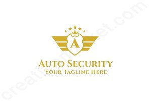 Auto Security Logo Template