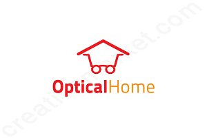 Optical Home Logo Template