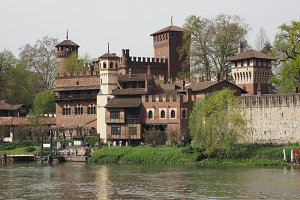 Medieval Castle in Turin