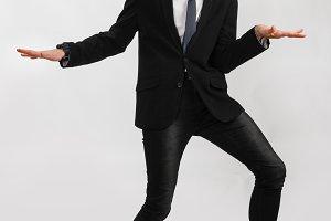 young stylish businessman