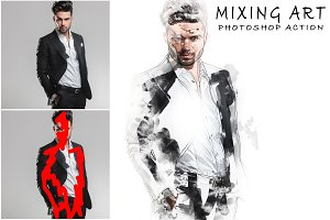Mixing Art Photoshop Action