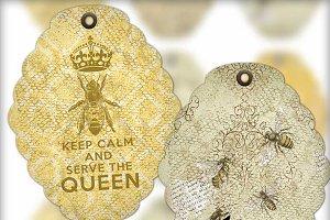 Bees - Hives - Honey Digital Tags