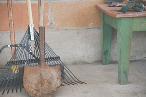 Garden Tools - Horizontal