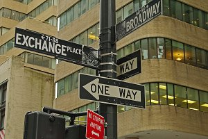 Street Signs in NYC