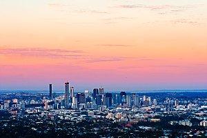 Brisbane City Twilight