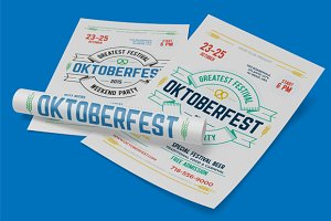 Oktoberfest Festival Poster, vol.2
