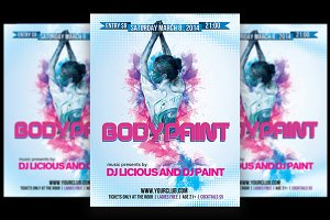 Bodypaint Ladies Party