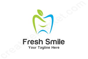 Fresh Smile Logo Template