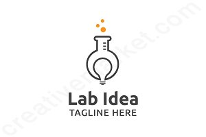 Lab Idea Logo Template