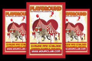 Playground Horror Party