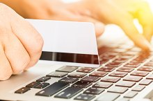 Buying online with credit card