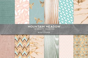 Mountain Meadow in Rose Gold