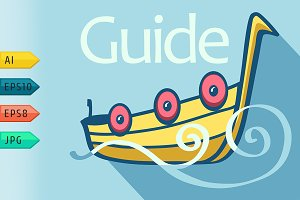 Guide viking ship.