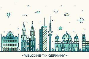 Skyline of Germany