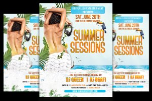 Summer Sessions Flyer