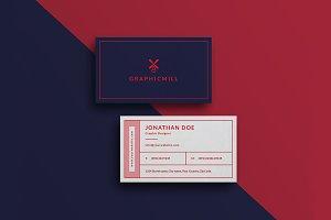 Creative Agency Business Card #32