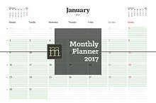 Monthly Planner 2017 (MP08)