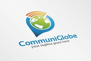 CommuniGlobe – Logo Template