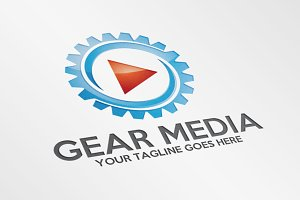 Gear Media – Logo Template