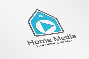 Home Media – Logo Template