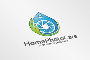 HomePhotoCare – Logo Template