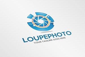 Loupe Photo – Logo Template