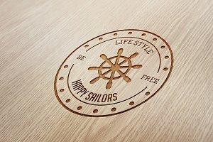 11 Hipster Badge Logos