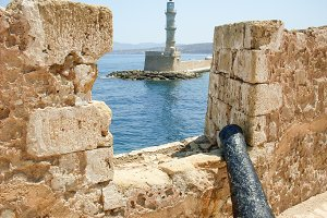 Fort Bastion, Fortress, Lighthouse, Cannon