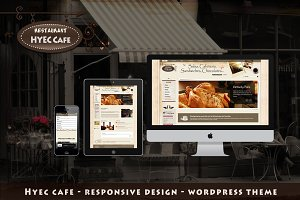 HYEC Cafe - WordPress Theme