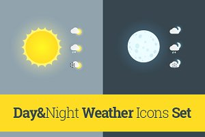 Day&Night Weather Icons
