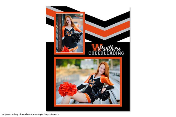 Cheerleading Memory Mate - MM1 ~ Flyer Templates ~ Creative Market