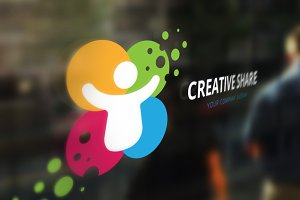 Creative Share Logo