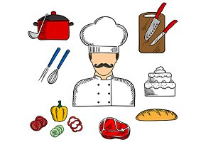 Cook or chef profession