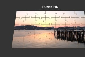 Puzzle HD generator for FCPX