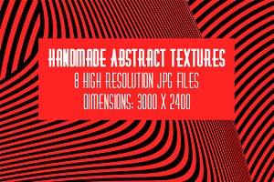 8 Handmade Abstract Textures