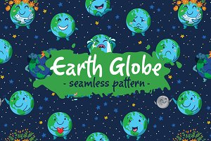 Earth Clobe pattern
