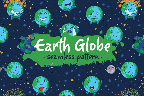 Earth Clobe pattern